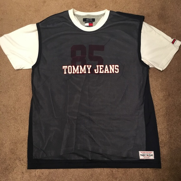 Tommy Hilfiger Gym Basics Mesh T Shirt Men s Large 346341227de